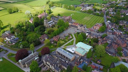 The historic grounds of Repton School