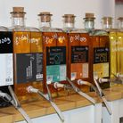 Oils and vinegars at Skopa