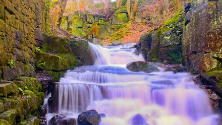 Lumsdale Falls by Kerry Keating