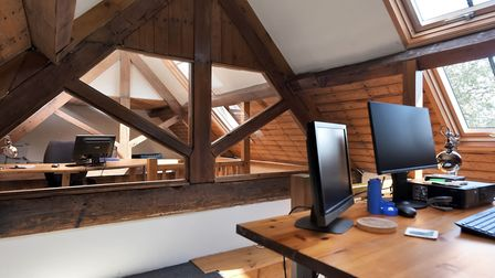 Rodsley Wood Farm has its own office space
