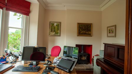 Holt House's home office