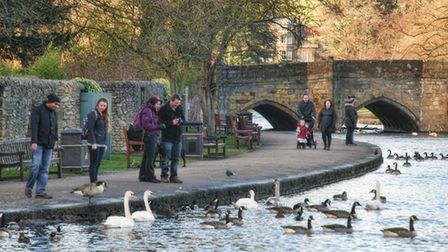 Beside the river in Bakewell credit Ashley Franklin