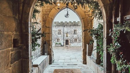 Haddon Hall at Christmas