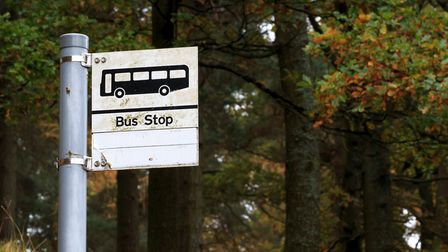 Rural bus services can be few and far between