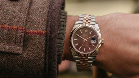 A Rolex timepiece available at H.L. Brown & Son