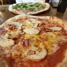The Derwentwater Arms' famous pizzas