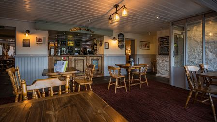 The interior at the Derwentwater Arms