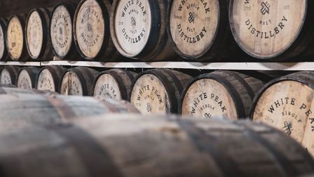 The Dunnage - whisky cask maturation storage area