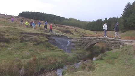 Packhorse Bridge, Burbage Moor