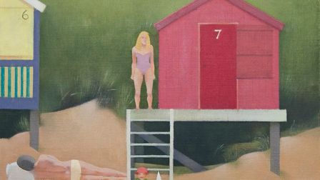 Peter Baldwin's 'Family at Wells', part of the N20G in 2020 exhibition, which is on at the Mandells