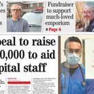 Barts Charity launched an appeal to buy things like wash kits for NHS staff and iPads so Covid patie