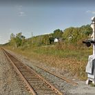 The Canadian Pacific Railway running through Romford, Ontario. Picture: Google Streetview