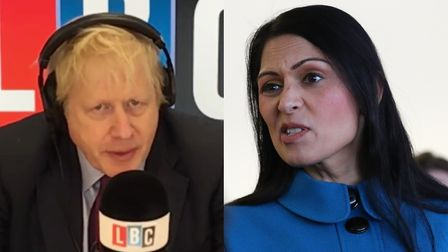 Boris Johnson couldn't back up Priti Patel's alarming 'crime wave' claims in the event of a Labour g