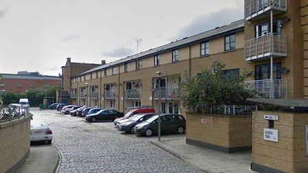 Properties have already been constructed at Gilbeys Yard as part of Camden's plans. Picture: Google