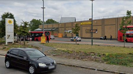 The Kentish Town Morrisons supermarket is earmarked for development. Picture: Google.