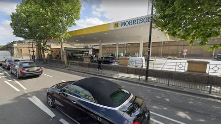 This Kentish Town petrol station would be redeveloped into employment land, council papers state. Pi