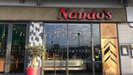 The Nando's at Cardinal Park in Ipswich has closed temporarily. Picture: ARCHANT