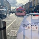 Broadway Market's Street Food Market is open on Fridays for the next six weeks. Picture: Hayley Clar