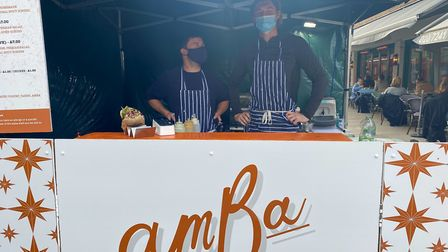 AmBa stall at Broadway Market. Picture: Hayley Clarke