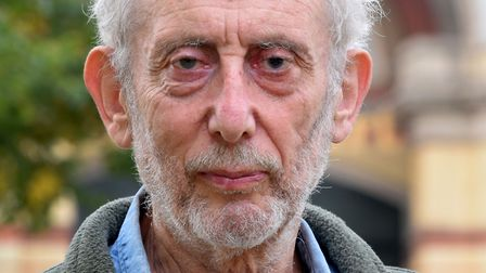 Children's author and poet Michael Rosen at Alexandra Palace London on 07.09.20. Picture: Polly Hanc