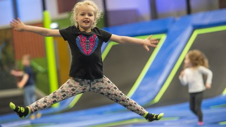 The old Bounce trampoline park in Ipswich will soon reopen as Jump In, it has been announced Picture: PHIL WILKINSON