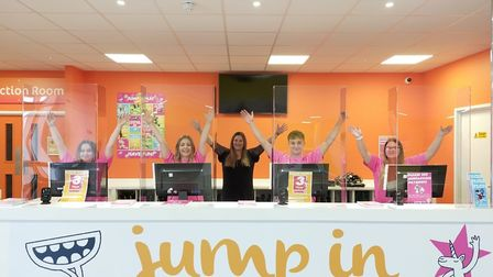 The former Bounce trampoline park on Anglia Retail park will reopen as Jump In this weekend Picture: CHALMERS PR