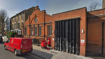Brooke Road sorting office. Picture: Google
