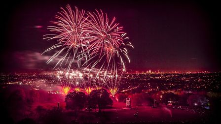 The annual event usually draws crowds of up to 90,000. Picture: Alexandra Palace/Lloyd Winters