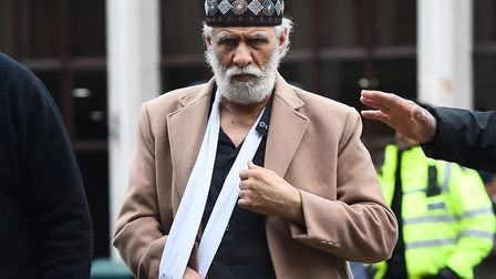 Prayer leader Raafat Maglad returned to Regent's Park Mosque just days after he was attacked there. Picture: PA