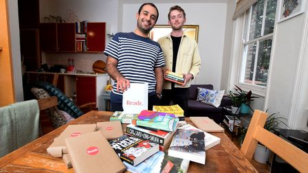 Sam Davami and James Hutchinson launch Readr - a new subscription book service.