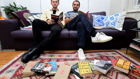 James Hutchinson and Sam Davami launch Readr - a new subscription book service.