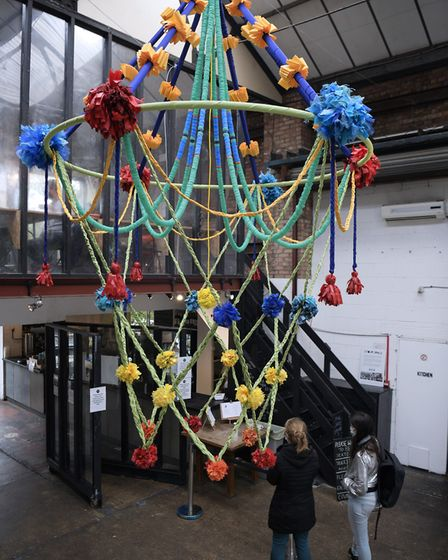 The installation will be exhibited at Stour Space gallery in Hackney Wick until October 16. Picture: