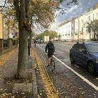 Cycleway 38 on Liverpool Road. Picture: Andre Langlois