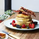 Buttermilk pancakes at Sunday