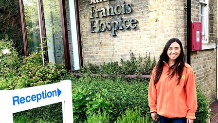 Abigail Feeley gives up her Friday nights to volunteer at Saint Francis Hospice, Havering-atte-Bower