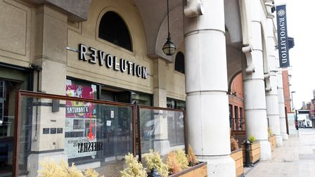 Revolution Bars, which has a branch in Ipswich, will close six of its sites nationwide Picture: CHARLOTTE BOND