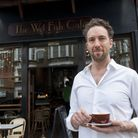 Andre Millodot owner of Wet Fish Cafe recently celebrated the cafe's 10th Anniversary