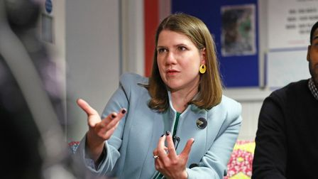 Liberal Democrat leader Jo Swinson. Picture: Aaron Chown/PA Wire/PA Images