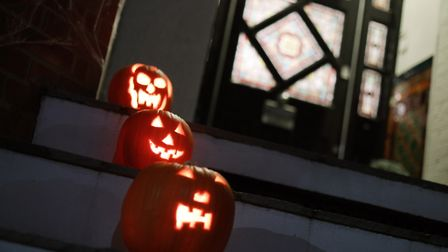 People have been encouraged not to go trick or treating this Halloween. Picture: Yui Mok/PA