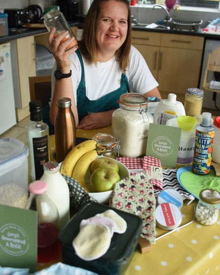 Lucy Storey plans to open a zero waste one-stop shop in Ipswich Picture: DENISE BRADLEY