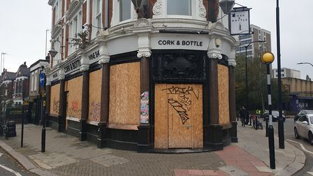 The Cork and Bottle. Picture: Harry Taylor