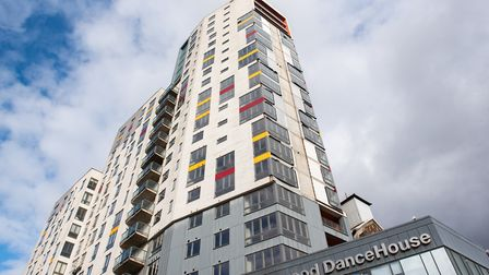 A fire expert warned that parts of The Mill, Ipswich, was wrapped in combustible cladding back in 20
