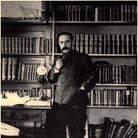 Rudyard Kipling (1865-1936), English Poet and Novelist, Portrait at Home, circa 1895