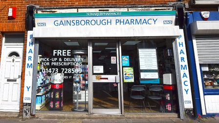 Gainsborough Pharmacy, in Reynolds Road, has been sold Picture: CHRISTIE AND CO