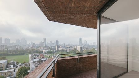 The Hoxton Press towers at the Colville Estate. Picture: David Chipperfield and Karakusevic Carson a
