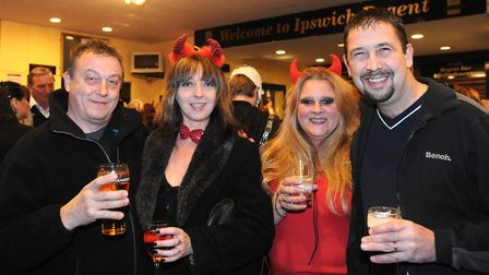 Enjoying the Halloween atmosphere at Ipswich Regent for Vampires Rock in 2008 Picture: ALEX FAIRFULL