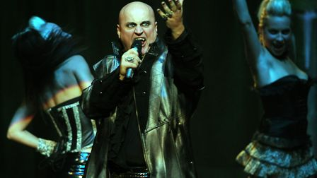 Steve Steinman performing at Vampires Rock at Ipswich Regent in 2008 Picture: ALEX FAIRFULL/ARCHANT