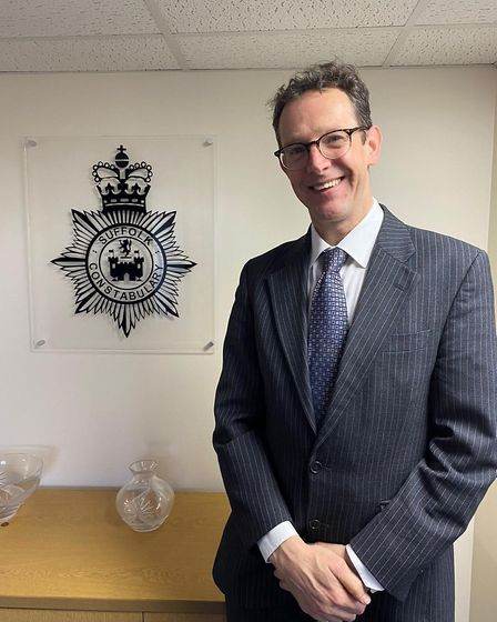 Assistant chief constable Rob Jones. Picture: SUFFOLK CONSTABULARY