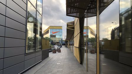 More of the units are vacant at the Hackney Walk luxury retail outlet than are occupied, four years