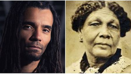 Akala (left) has been picked to represent the Royal Free - and Mary Seacole for the Whittington. Pic
